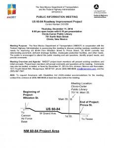 PIM Notice US 60-84 Notice