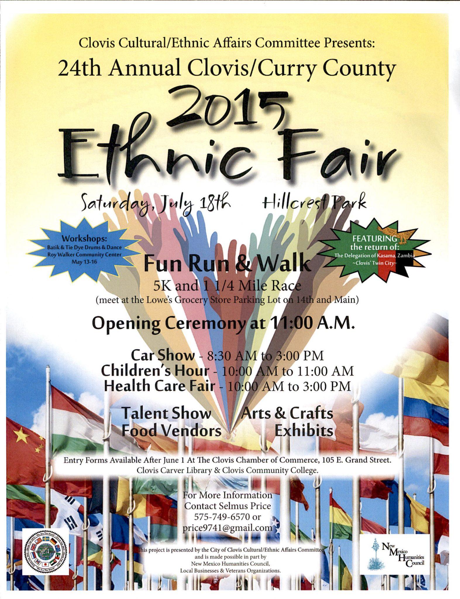 New mexico curry county clovis - Ethnic Fair 2015
