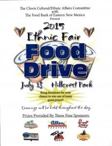 ethnic fair food drive